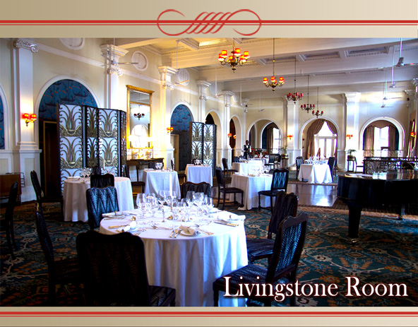 The Livingstone Room Victoria Falls Hotel