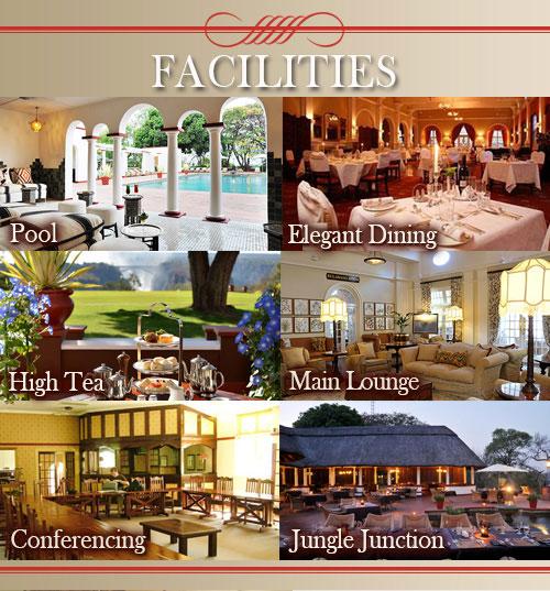 Victoria Falls Hotel facilities