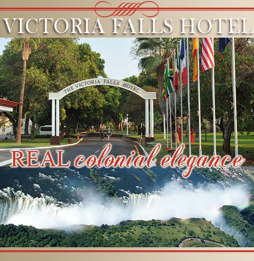 Victoria Falls hotel in Zimbabwe